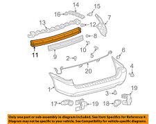 TOYOTA OEM 04-10 Sienna Rear Bumper-Reinforcement 52171AE010