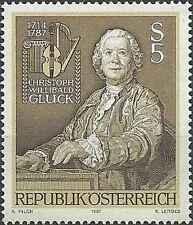 Timbre Musique Autriche 1734 ** lot 26995