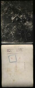 WWI 1916 Original ROYAL FLYING CORPS reconnaissance 2 x photos of Trenches