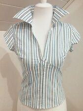 Schöne Bluse,gestreift,Shirt,Gr.36/S,Amisu