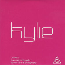 KYLIE MINOGUE ULTRA RARE AUSSI 2001 PROMO CDROM SEALED