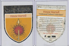 Game of Thrones Season 3 -  Case Topper House Martell Sigil Die-Cut Card H-10