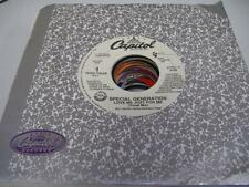 R&B / Rap Unplayed NM! Promo M. C. Hammer 45 SPECIAL GENERATION Love Me Just Fo