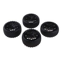 4x RC Buggy Wheel Tires Tyre for RC Car HSP Redcat  HPI RC4WD AXIAL