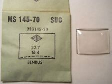 BENRUS SUC MS145-70 SUC-MS145-70 Factory Replacement Watch Crystal 2.27 1.64 mm
