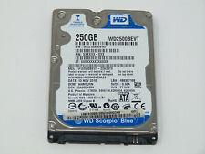 "Western Digital Scorpio Blue 250GB Internal 5400RPM 2.5"" SATA II HDD -WD2500BEVT"