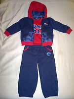 lonsdale baby boy tracksuits 3 pieces set 18-24 months