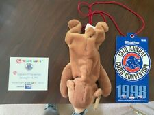 Cubbie's 1st convention beanie baby, extras