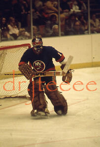 Glenn Resch NEW YORK ISLANDERS - 35mm Hockey Slide