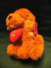 "Tesco kiss me  Puppy Dog Love Plush Soft Toy Teddy Approx 10""  with tag"