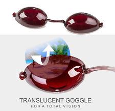LUNETTES NOIRES de bronzage pour SOLARIUM normes CE VISION goggles gafas UV UVA
