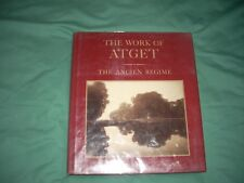 The Work Of Atget: Vol III The Ancient Regime/Szarkowski & Hambourg,1983 1st/1st