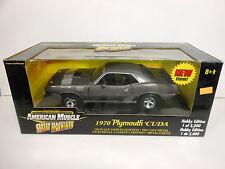 ERTL 1970 Plymouth Cuda (Die-Cast - 1:18 Scale)