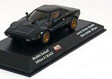 Lancia Stratos Stradale Année 1974 Noir Auto HEBDO 1 43 Minichamps
