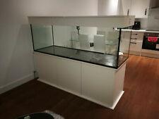 """SPECIAL ORDER 108/20-Aquarium Set 72""""x24""""x24"""" 660l LxWxH 10 mm glass + LED"""