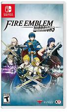 Fire Emblem Warriors (Nintendo Switch, 2017 )- Free Shipping - Not Original Case