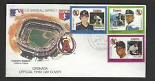 GRENADA BASEBALL FIRST DAY COVER