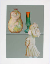 LEONOR FINI - 1976 Hand Signed Color Serigraph - Les Lecons - Orphan of Velletri