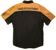 Harley-Davidson Mens 110th Anniversary Colorblock Button-Up Shirt Size XL