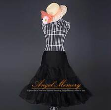 ROCK n' ROLL Prom Hoopless Crinoline Petticoat Underskirt TUTU US Stock