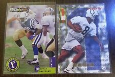 MARVIN HARRISON 1996 2 CARD ROOKIE LOT COLTS RC FLEER COLLECTORS CHOICE HOF?