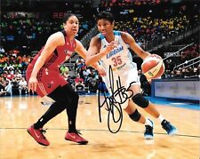 Louisville Cardinals Angel McCoughtry Hand Signed Atlanta Dream 8X10 Photo W/Coa