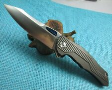 Night Morning Design TwoSun NightWing D2 Fast Open Pocket Folding Knife TS26