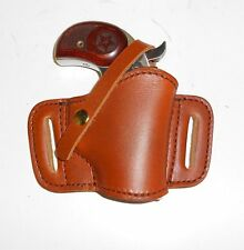 RUSSET CARRY HOLSTER for BOND ARMS AND COBRA TITAN DERRINGERS