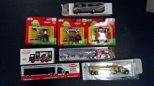 """Lot of NEW Diecast Farm/Tractor Trailers/ """"S"""" Scale Model RR Layout 1/64 (S51))"""