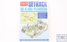 PM-400 Peco Modellers Library Setrack OO9 (HOe) Planbook