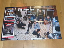 ONE DIRECTION!!! MEGA RARE FRENCH PROMO POSTER!!!!!!!!
