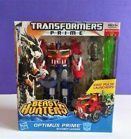 Hasbro 2012 Transformers Prime Beast Hunters Voyager Class Optimus Prime