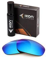 Polarized IKON Iridium Replacement Lenses For Oakley Split Jacket Ice Blue