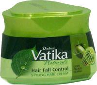 140ml Dabur Vatika Hair Fall Control Styling Hair Cream Olive Cactus Henna