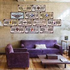 Vintage Retro Art Metal Tin Sign Poster Plaque Cafe  Bar Club Home Wall Decor