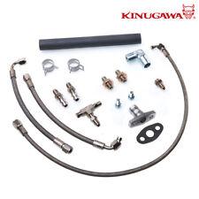 Kinugawa Turbo Oil Water Kit For Toyota Landcruiser 4.2L 1HZ Garrett GT28R GT30R