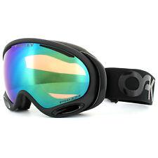 0a7ae66472d5 Oakley Ski Goggles A Frame 2.0 OO7044-66 Factory Blackout Prizm Jade Iridium