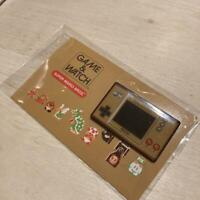 Nintendo Game and Watch Super Mario Bros 35th Amazon Japan Limited Pin badge F/S