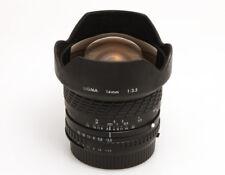 Sigma 14mm f/3,5 Ultraweitwinkel für Nikon AIS