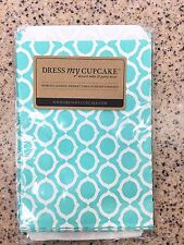Dress My Cupcake Pack of 25 Turquoise Trendy Paper Party Decor Sandwich Bags new