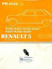 Renault R5 R12 Genuine Rear Windscreen Washer Jet Renault 7704000191