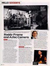 Hello, Goodbye Roddy Frame & Aztec Camera Cutting