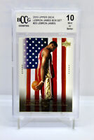 2003 Upper Deck LEBRON JAMES #23 - ROOKIE CARD RC - BECKETT BCCG 10 Mint Box Set