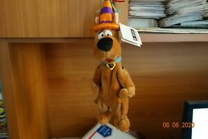 "WB Retired ""SCOOBY-DOO BIRTHDAY"" Bean Bag Vintage NMWMT"