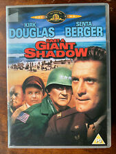 Cast A Giant Shadow Dvd Formation of the State of Israel Movie w/ Kirk Douglas