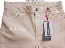 per Una Beige Roma Fit Stretch Slim Bootleg Jeans Size 22