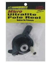 New Ht Enterprises Micro Ultralite Pole Reel Ice Rod Reel Black Uir-1