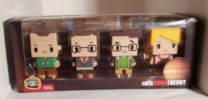 The Big Bang Theory Pixel Figure Set - Sheldon/Amy/Leonard/Penny