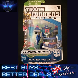 Transformers Prime Cyberverse Commander ULTRA MAGNUS UK STOCK NEW