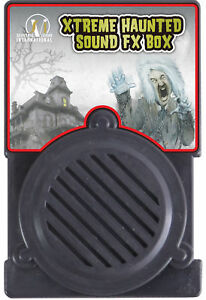 Xtreme Haunted Special Effects Small Sound Fx Box Props Seasonal Visions